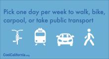 choose better transportation options